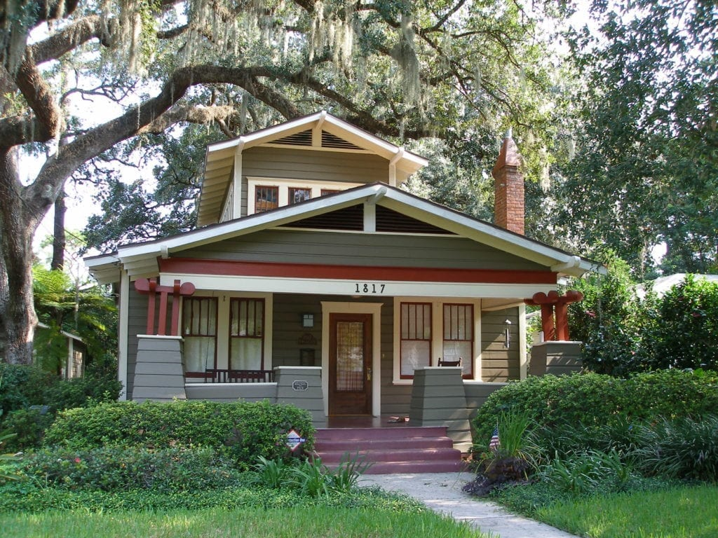 Orlando historic districts lake lawsona the craftsman blog for Classic house blogspot