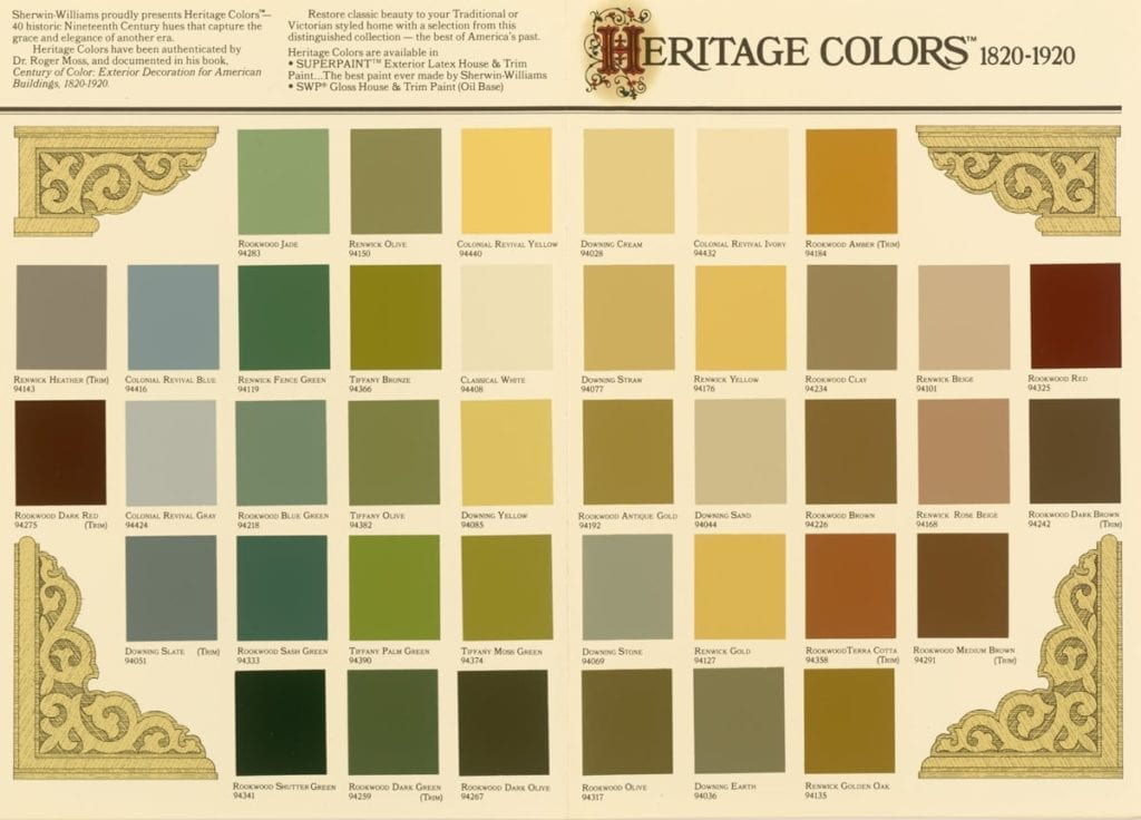 Sherwin-Williams Exterior House Paint Colors